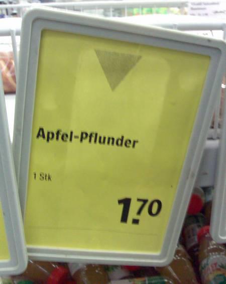 Apfel-Pflunder