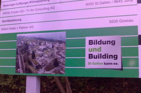 Bildung und Building