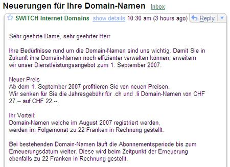 switch neuerungen 2007-07-12