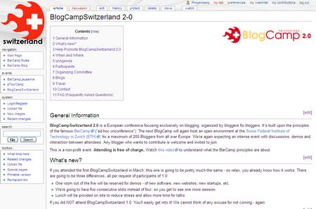 BlogCampWiki 2007-08-22