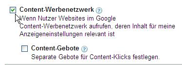 GoogleAds Content-Werbenetzwerk 2007-08-29