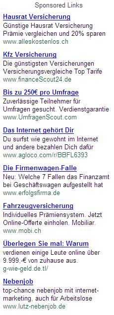 GoogleAds Affiliate 2007-10-11
