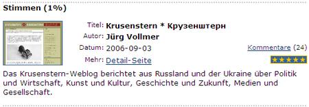 thebobs dieNominierten Krusenstern 2007-10-25