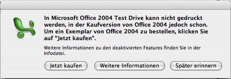 Excel-TestDrive Drucken 2007-11-26