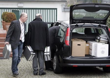 Hausdurchsuchung Klaus Zumwinkel