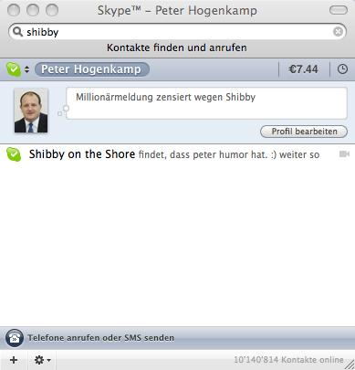 Skype-Statusmeldungen