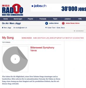 Radio 1, «My Song»: Song auswählen und adoptieren (Teil 1)